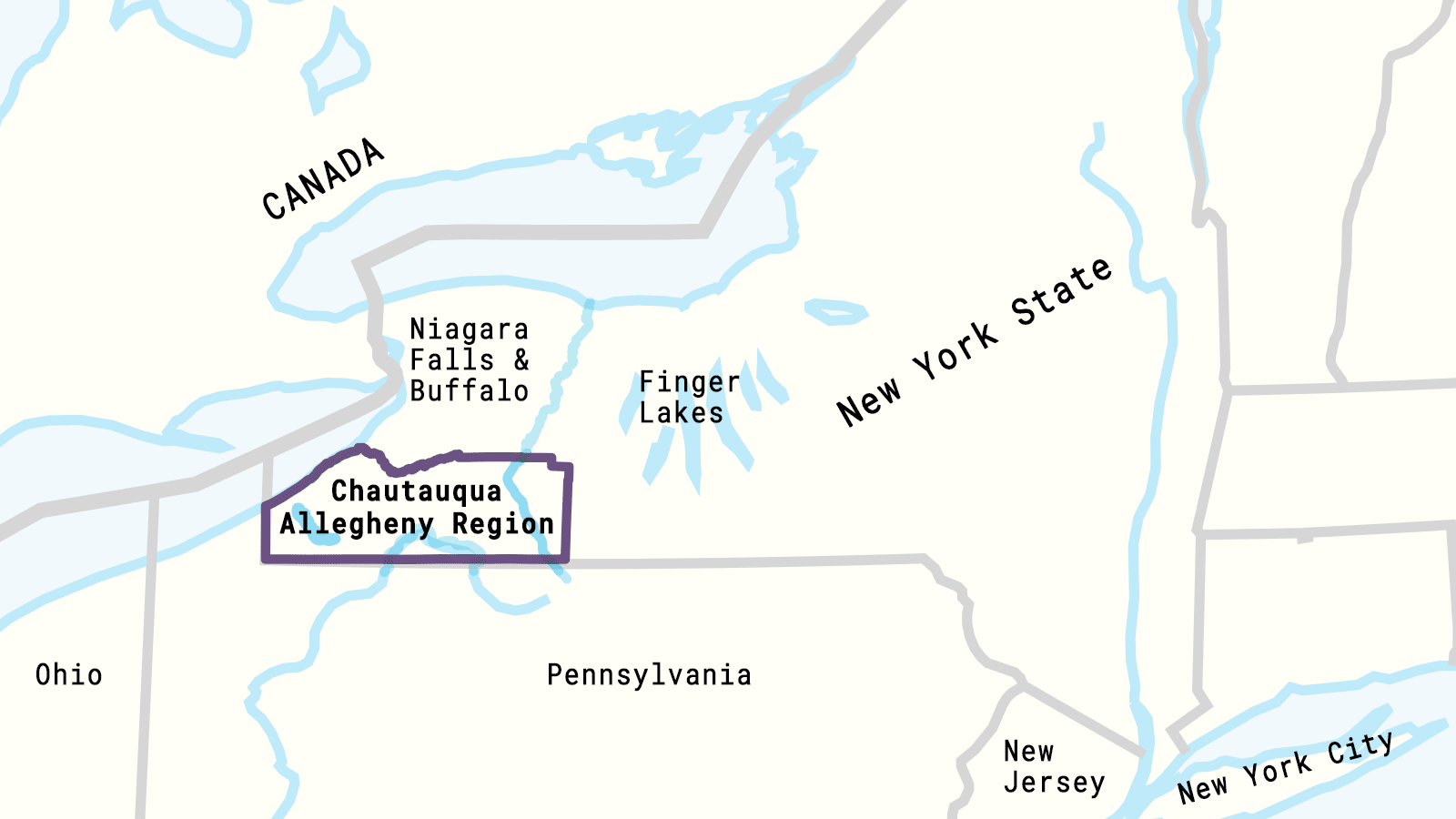 DRAFT of region Map